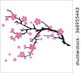 Illustration Of Cherry Blossom...