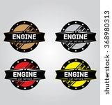 car repair vector logo  | Shutterstock .eps vector #368980313
