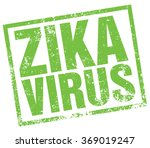 zika virus stamp | Shutterstock .eps vector #369019247