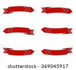 set of arrow stickers | Shutterstock . vector #369045917