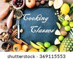 cooking classes | Shutterstock . vector #369115553