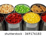 close up of opened cans of... | Shutterstock . vector #369176183
