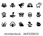 icons nature | Shutterstock .eps vector #369220013