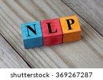 nlp  neuro linguistic... | Shutterstock . vector #369267287