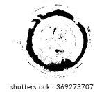black brush stroke in the form...   Shutterstock .eps vector #369273707