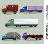 industrial freight vehicles... | Shutterstock .eps vector #369285833