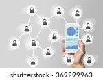 social network big data... | Shutterstock . vector #369299963