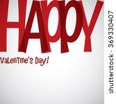 overlay word valentine's day... | Shutterstock .eps vector #369330407