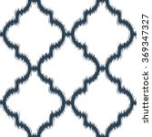 faux ikat fabric moroccan... | Shutterstock .eps vector #369347327