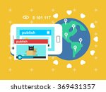 share video publish | Shutterstock .eps vector #369431357