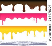 colored seamless drips... | Shutterstock .eps vector #369478307