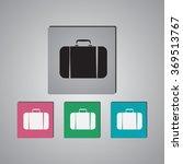 travel bag icon | Shutterstock .eps vector #369513767