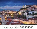 lisbon. image of lisbon ... | Shutterstock . vector #369533843