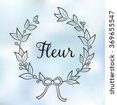 floral shop    logo  poster ...   Shutterstock .eps vector #369655547