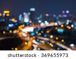 abstract blurred bokeh city... | Shutterstock . vector #369655973