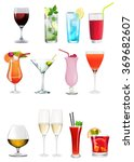 set   collection of different... | Shutterstock . vector #369682607
