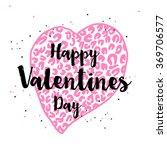 hand drawn doodle happy... | Shutterstock .eps vector #369706577