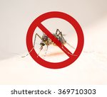 world malaria day with stop or... | Shutterstock . vector #369710303