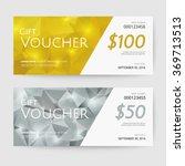 gift voucher templates | Shutterstock .eps vector #369713513