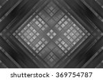 abstract grey fractal... | Shutterstock . vector #369754787