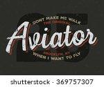 aviator  plane  pilot...   Shutterstock .eps vector #369757307