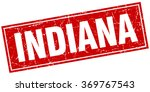 indiana red square grunge... | Shutterstock .eps vector #369767543