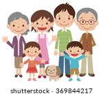family cute smile | Shutterstock . vector #369844217