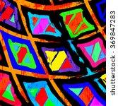 graffiti abstract geometric... | Shutterstock .eps vector #369847283