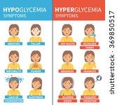 diabetes vector infographic.... | Shutterstock .eps vector #369850517