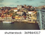 porto view of douro   s... | Shutterstock . vector #369864317