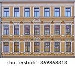 vintage house facade windows... | Shutterstock . vector #369868313
