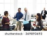 business people meeting... | Shutterstock . vector #369893693