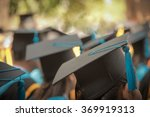 Selective focus on graduation...