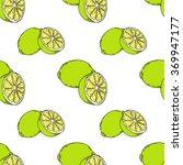 seamless vector lime pattern | Shutterstock .eps vector #369947177