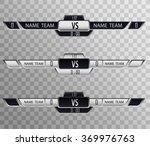 versus logo. vs vector letters... | Shutterstock .eps vector #369976763