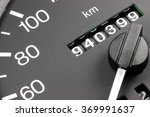 odometer of used car showing... | Shutterstock . vector #369991637