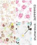 seamless tropical flower... | Shutterstock .eps vector #369999953