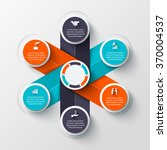 vector infographic design... | Shutterstock .eps vector #370004537