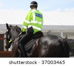 A police constable on duty on a ...