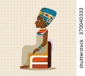 pharaoh theme elements | Shutterstock .eps vector #370040333