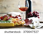 still life with various types... | Shutterstock . vector #370047527