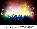 party people in club | Shutterstock .eps vector #370068203