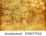 americas founding fathers...   Shutterstock . vector #370077743