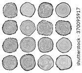Collection Of Vector Tree Ring...