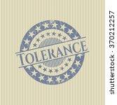 tolerance grunge seal | Shutterstock .eps vector #370212257