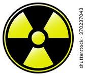 symbol of radioactive... | Shutterstock .eps vector #370237043