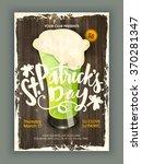 vintage pamphlet  banner or... | Shutterstock .eps vector #370281347