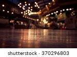 empty wood table top on blur ... | Shutterstock . vector #370296803
