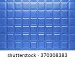 metallic plate background with... | Shutterstock . vector #370308383