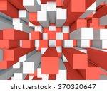 illustration of abstract mosaic ... | Shutterstock . vector #370320647